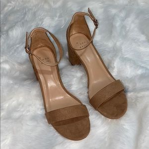 A . New day nude heels